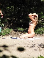 Voyeur beach photos of nudists