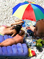 Group of nudists caught on hidden cam