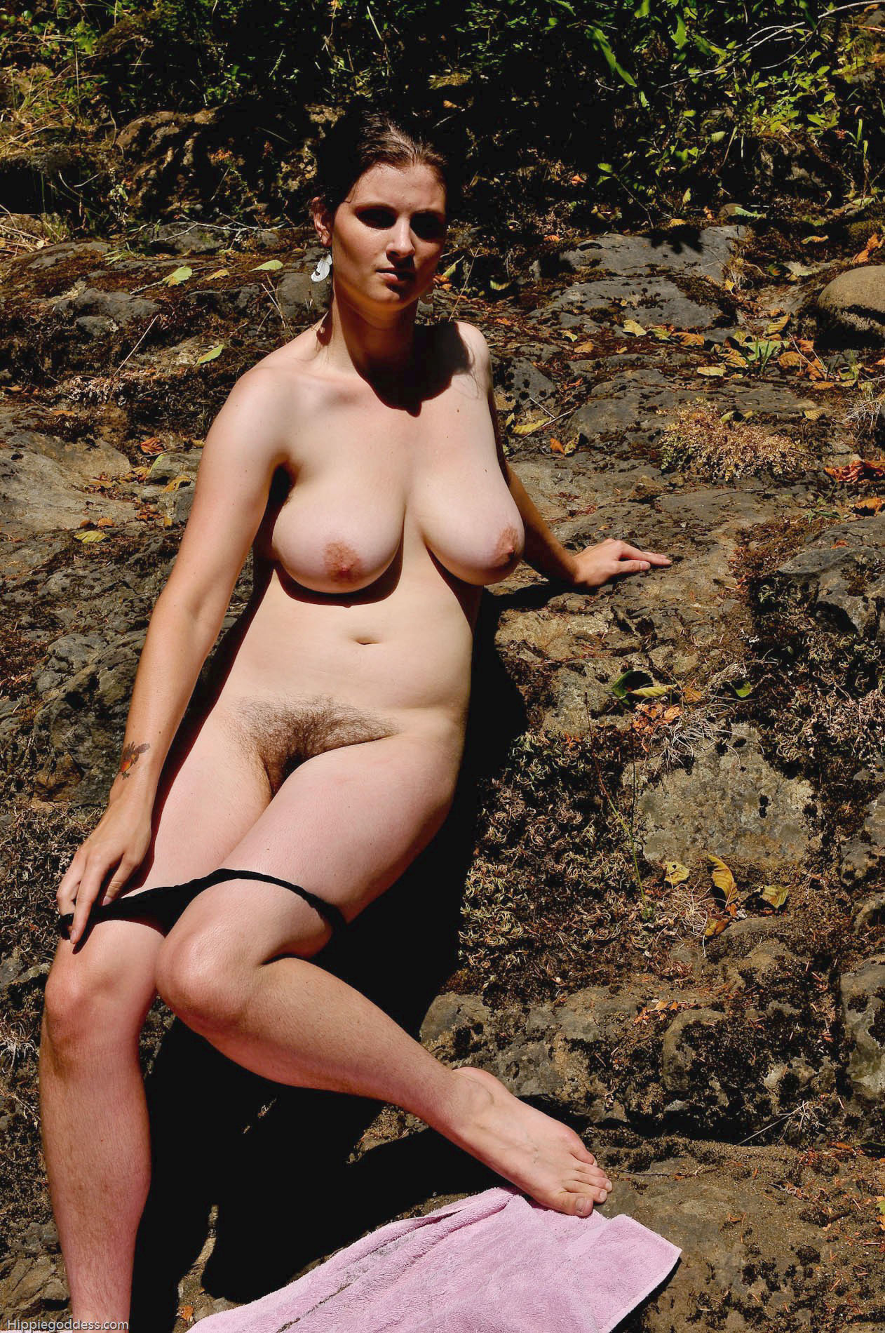 beach beaver nudist shy wife