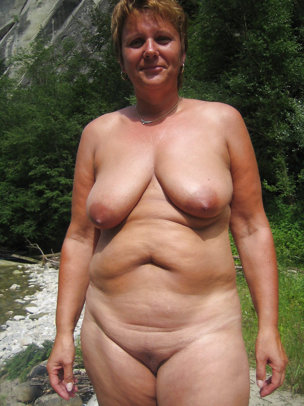 Apologise, but, Mature bbw nudist pics think