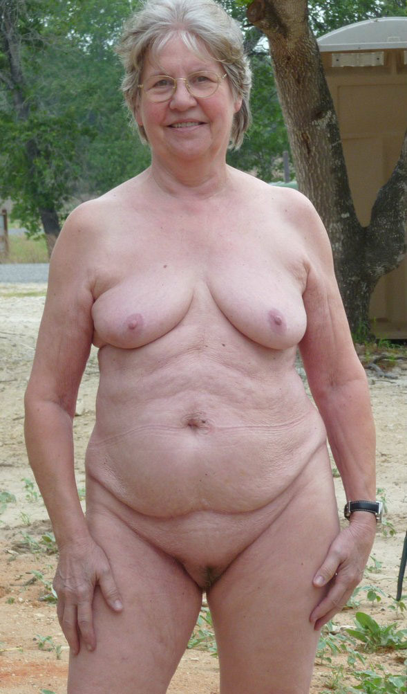 nude grannies Fat